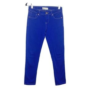 Love Culture Royal Blue Skinny Jeans Size 3